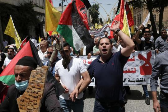 الفلسطينيون يجددون في الذكرى 53 للنكسة رفضهم مخططات الضم والانحياز الأمريكي للاحتلال