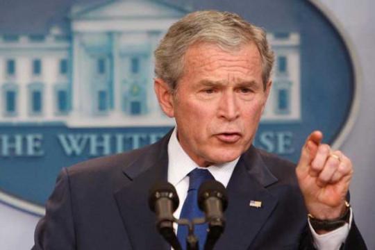 بوش: النظام العرقي يقوِّض المجتمع الأمريكي