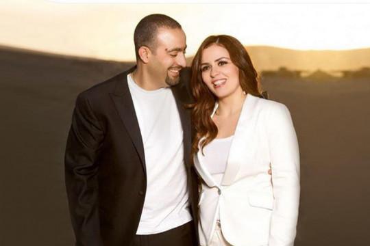 أحمد السقا وزوجته يعزلان نفسيهما بالحجر المنزلي، بعد إصابة صديقة زوجته بالكورونا