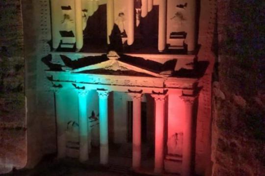 البترا تشارك العالم الإحتفال بيوم التراث العالمي رغم أزمة كورونا