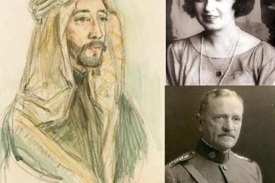ما حكاية بورتريه الملك فيصل الأول ؟