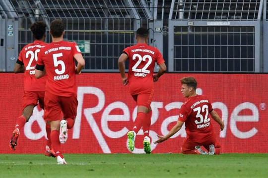 المباراة بين بايرن ميونيخ وبروسيا دورتموند تتصدر الترند في العالم