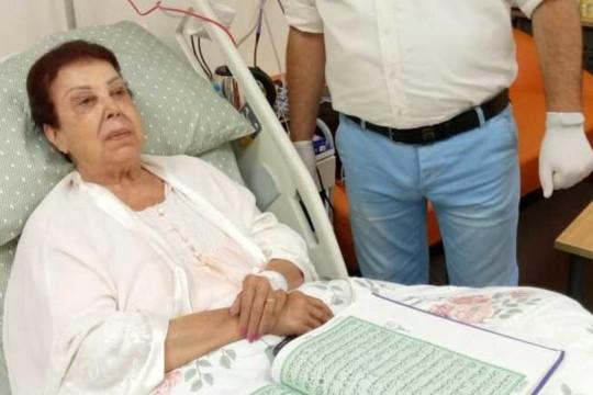 رجاء الجداوي تقرأ خبر وفاتها وحالتها مستقرة