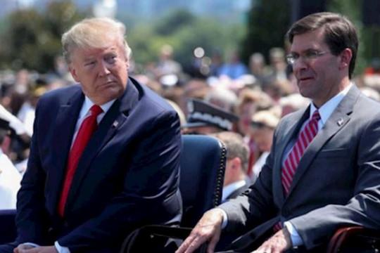 في اجتماع حاسم في البيت الأبيض .. ترامب يصرخ في وجه وزير الدفاع بعد رفضه نشر الجيش في واشنطن