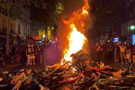 شرارة الاحتجاجات الأمريكية تصل إلى باريس
