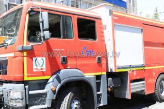 استشهاد أحد مرتبات الدفاع المدني أثناء تأديته لواجب إخماد حريق في عجلون