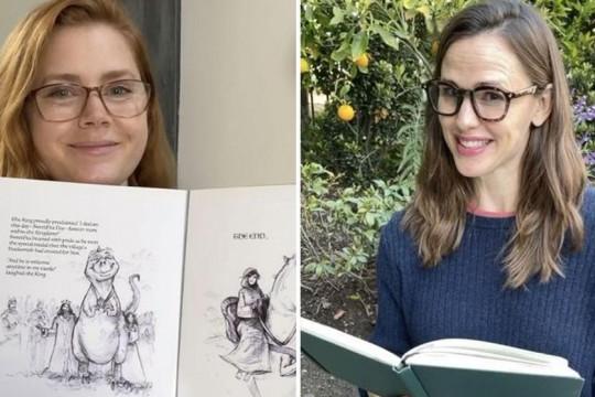روايات قبل النوم بصوت نجوم هوليوود في مبادرة أطلقتها إيمي أدمز وجنيفر جارنر