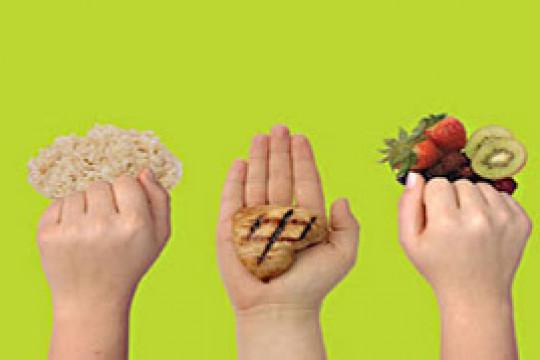 كيف نستخدم كفة اليد لقياس حصة الطعام المُتناول خلال الحجر المنزلي